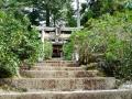 Shrine on mt misen:みせんの神社