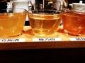 Three kinds of plum wine:三つ種類の梅酒