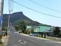 Shikoku village from a far