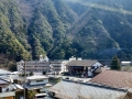 Sanuki saita village surrounded my mountains