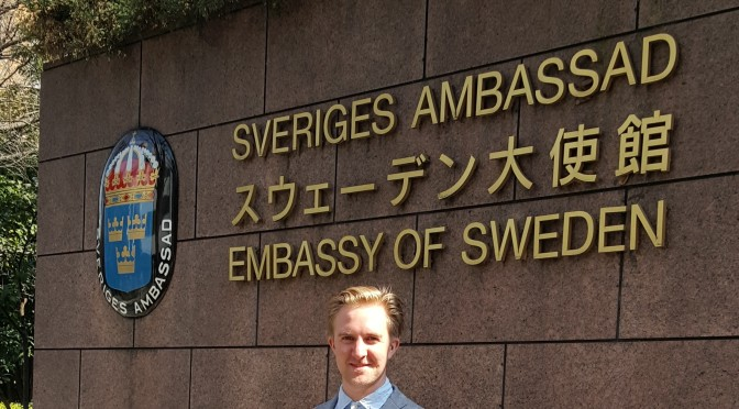 Internship at the Embassy of Sweden