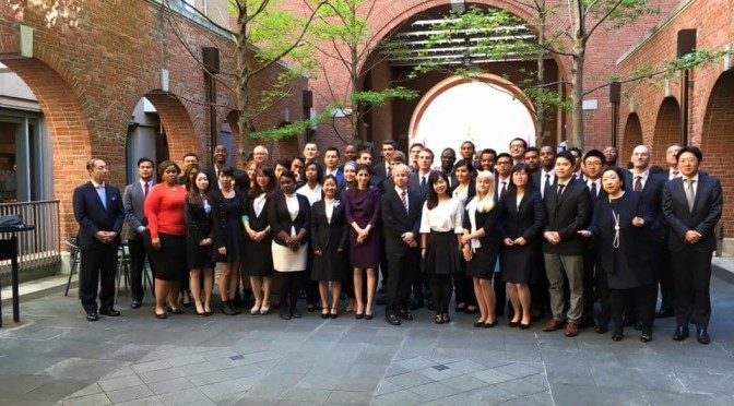 The new semester at Doshisha Business School