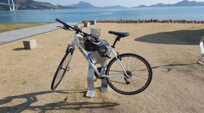 Cycling the shimanami kaido in Japan